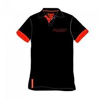 [해외]루디 프로젝트 Polo Crew S/S Black / Red Fluo