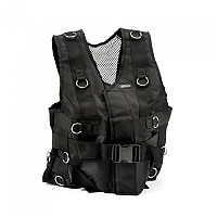 [해외]SALTER Vest With Rings Black