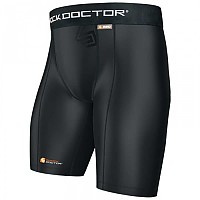 [해외]SHOCK DOCTOR Core Compression Short Boy Black