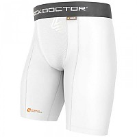 [해외]SHOCK DOCTOR Core Compression Short Boy White