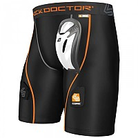 [해외]SHOCK DOCTOR Ultra Compression Hockey Short Black
