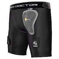 [해외]SHOCK DOCTOR Core Women´s Compression Hockey Shor Black