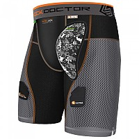 [해외]SHOCK DOCTOR AirCore Ultra PowerStride Hockey Short Black / Grey