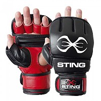 [해외]STING Aquila Hybrid Training Gloves Red / Black