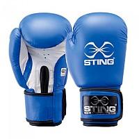 [해외]STING Competition Leather Boxing Gloves Blue