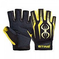 [해외]STING Fusion Training Gloves Yellow Fluo
