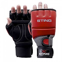[해외]STING Gel Hybrid Training Gloves Red