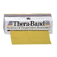 [해외]THERABAND Band 5.5 M X 15 Cm Gold