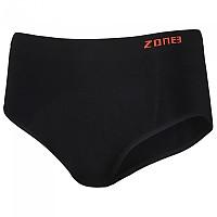 [해외]ZONE3 Seamless Support Briefs Black / Orange