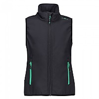 [해외]CMP Girl Vest Anthracite / Aquamint