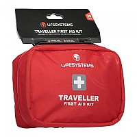 [해외]LIFESYSTEMS Traveller First Aid Kit Red