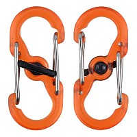 [해외]NITE IZE S Biner Microlock 2 Units Orange