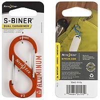 [해외]NITE IZE Aluminium S Biner 듀얼 3 Orange
