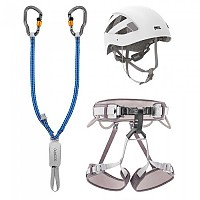[해외]페츨 Kit Via Ferrata Vertigo 1 Grey / White