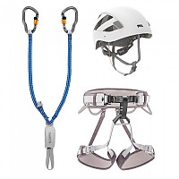 [해외]페츨 Kit Via Ferrata Vertigo 2 Grey / White