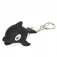 [해외]REGATTA Animal Key Ring Torch Whale / Black