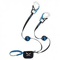 [해외]살레와 Set Via Ferrata Ergo Zip 4136362578 Silver/Royal Blue