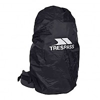 [해외]TRESPASS Rain Rucksack Cover Black