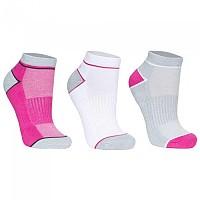 [해외]TRESPASS Liloo 3 Pack White / Grey / Pink Glow