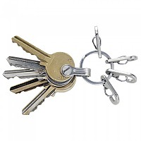 [해외]TRUE UTILITY Key Ring System Stainless Steel