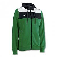 [해외]조마 Crew Hooded Jacket Green Medium / White / Black