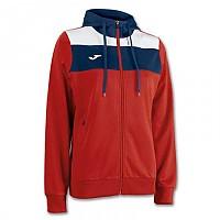 [해외]조마 Crew Hooded Jacket Red / White / Navy