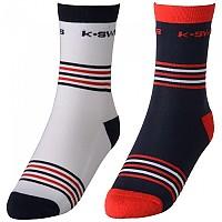 [해외]K-SWISS Heritage 2 Pack White / Navy / Red