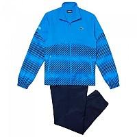 [해외]라코스테 Sport Tennis Stripes Blur Blue / Navy Blue / White