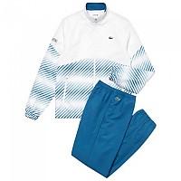 [해외]라코스테 Sport Tennis Stripes Blur White / Blue / Black