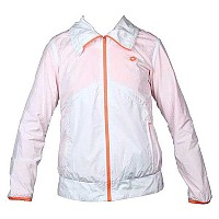 [해외]LOTTO Jacket Nixia White / Fluo Carrot