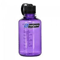 [해외]날진 Narrow Mouth Bottle 500ml Purple / Loop-Top Black