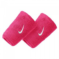 [해외]나이키 ACCESSORIES Swoosh Doublewide Wristband Vivid Pink