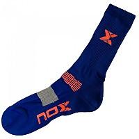 [해외]NOX Socks Navy / Orange Fluor