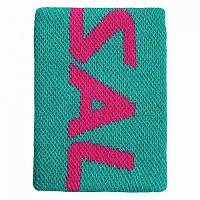 [해외]살밍 Wristband Mid Ceramic Green / Azalea Pink