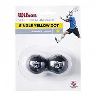 [해외]윌슨 Staff Slow Single Yellow Dot Black