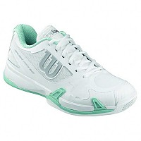 [해외]윌슨 Rush Pro 2.0 Clay Court White / Ice Gray / Stillwater