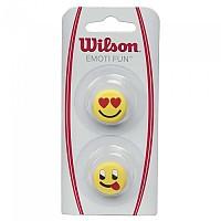 [해외]윌슨 Emoti Fun Heart Eyes Tongue Out 2 Units Yellow