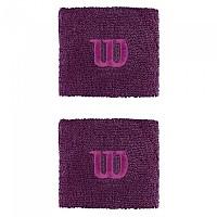 [해외]윌슨 Wristband Dark Purple