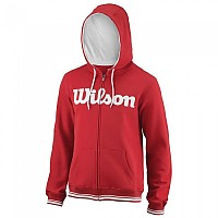 [해외]윌슨 Team Script Full Zip Hooded Wilson Red / White