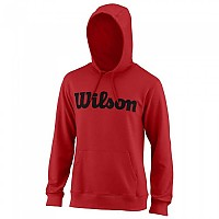 [해외]윌슨 Script Cotton Hooded Wilson Red / Black