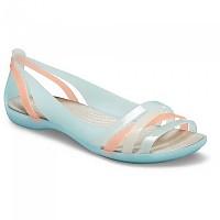 [해외]크록스 Isabella Huarache 2 Flat Ice Blue / Platinum