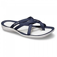 [해외]크록스 Swiftwater Webbing Flip Navy / White