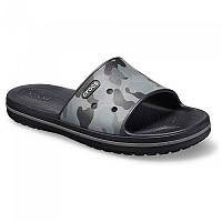 [해외]크록스 Crocband III Seasnal Graphc Slide Slate Grey / Black