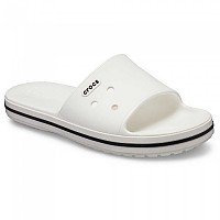 [해외]크록스 Crocband III Slide White / Black