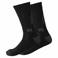 [해외]헬리 한센 Lifa Merino Socks 2 Pack Black