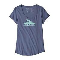 [해외]파타고니아 Flying Fish Organic Scoop Dolomite Blue