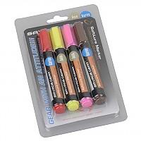 [해외]SAVAGE GEAR Magic Softlure Marker Kit Red/Yellow/Pink/Brown