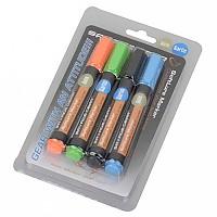 [해외]SAVAGE GEAR Magic Softlure Marker Kit Orange/Green/Black/Blue