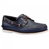 [해외]팀버랜드 Classic 2 Eye Shoes Wide Smooth Navy