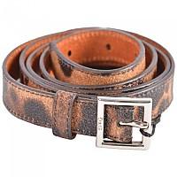 [해외]DOLCE & GABBANA Animal Print Logo Belt Brown